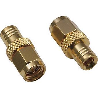 BKL Electronic 0411046 SMB adapter SMB plug - SMA plug 1 pc(s)