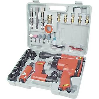 Brüder Mannesmann Pneumatic tool set 1/2 (12.5 mm) male square 8 bar incl. case