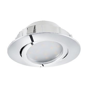 Eglo versenkt LED Spott 84 Chrome Pineda
