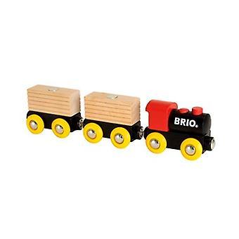 Conjunto de trem clássico BRIO 33409 para ferrovia de madeira