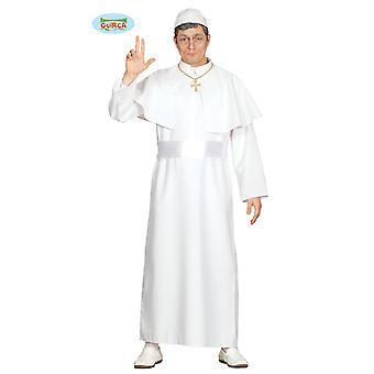 Costume de pape pour chef spirituel de hommes Carnaval Carnaval de