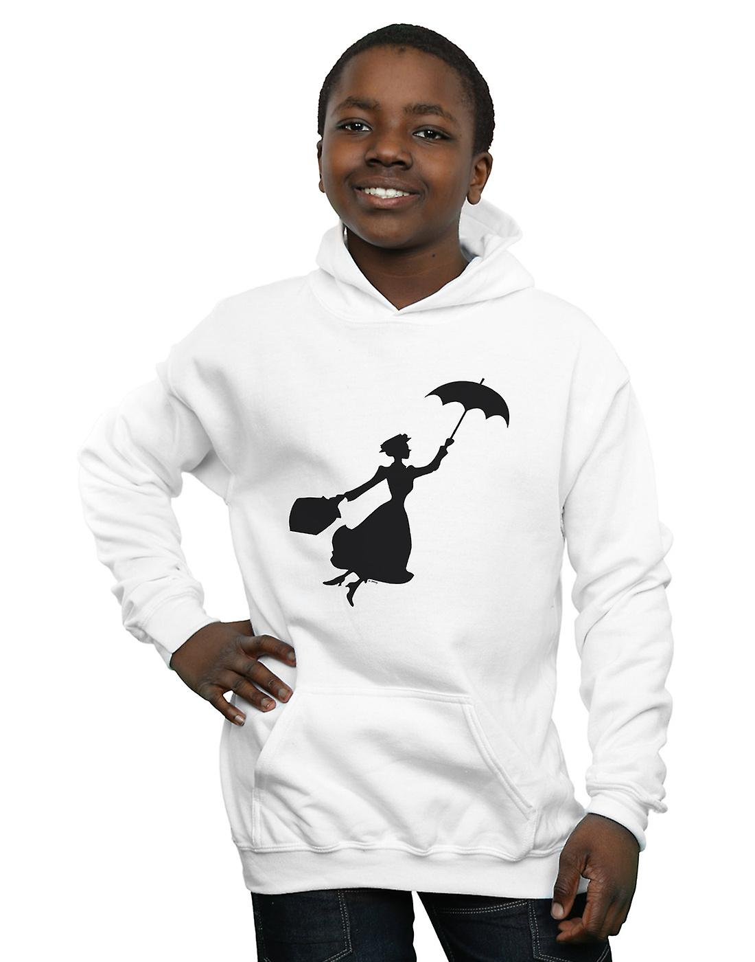 Disney Boys Mary Poppins Flying Silhouette Hoodie