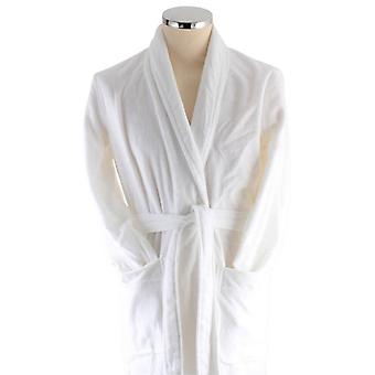 Bown of London Snowdrop Short Dressing Gown - White