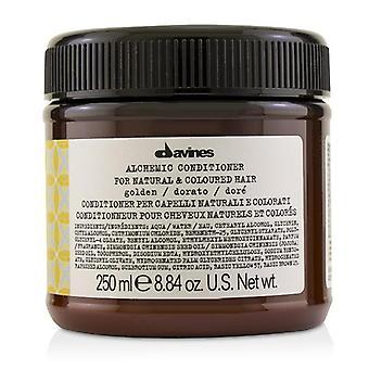 Davines Alchemic Conditioner-# kultainen (luonnon & amp; Värjätyt hiukset)-250ml/8.84 oz