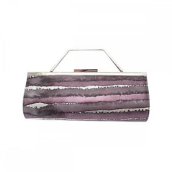 Renata Leather 3 In 1 Barrel Style Clutch Bag