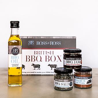 Zone de barbecue britannique