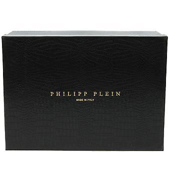 Philipp Plein Slim Hallo-Top Sneakers | Geel leder
