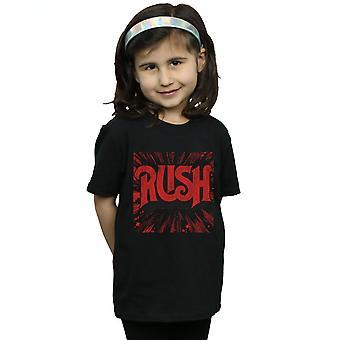 Rush девушки проблемные всплеск логотип T-Shirt