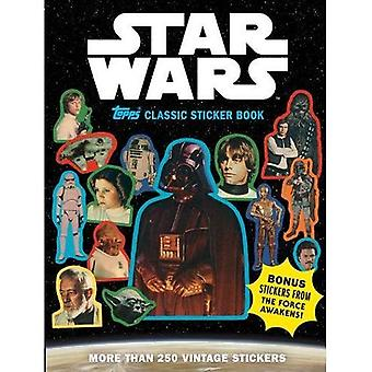 Star Wars Classic Topps Sticker Book