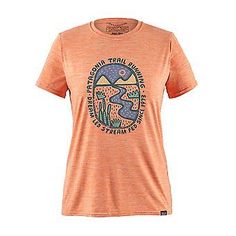 Patagonia women's T-Shirt Cap cool daily graphic