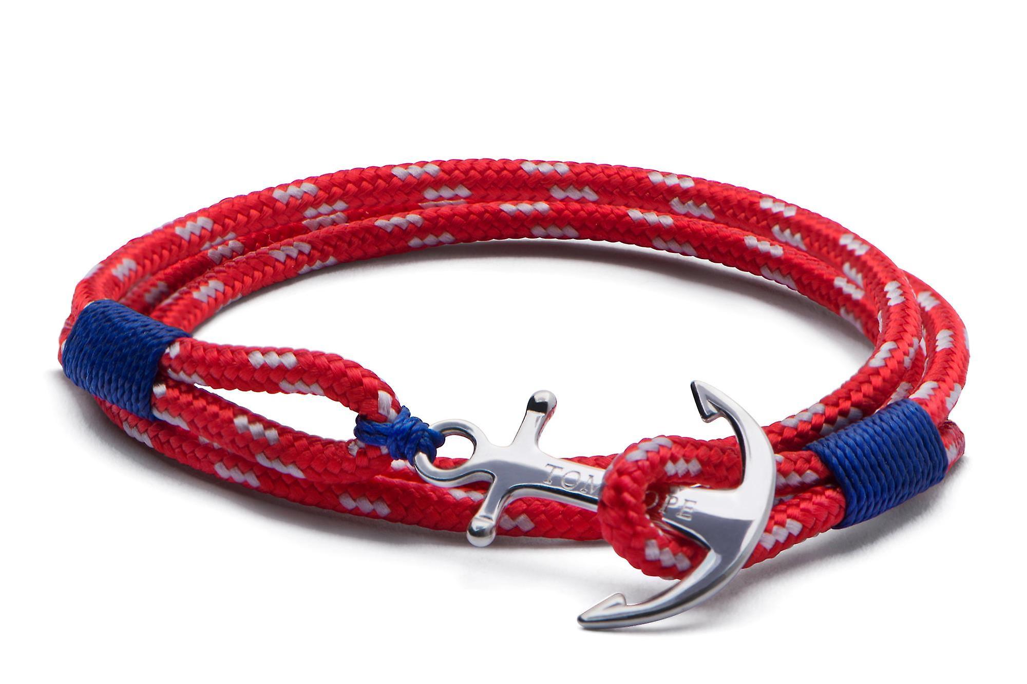 Tom Hope Sterling Silver Arctic 3 Bracelet Medium TM0012