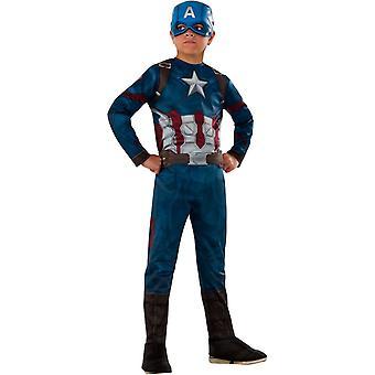 Superhero Captain America Child Costume
