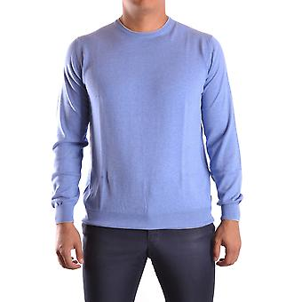 Altea Ezbc048020 Men's Light Blu/green Cotton Sweater