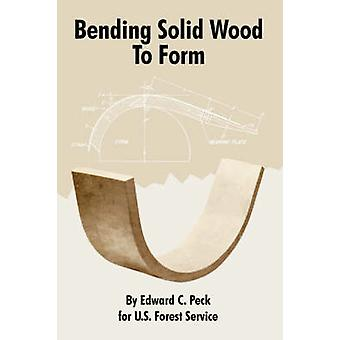 Buigen van massief hout te vormen door de Peck & Edward & C.