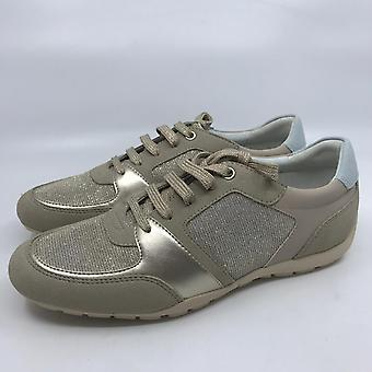 Geox D RAVEX Women's Sneaker Shoes taupe NEW OVP