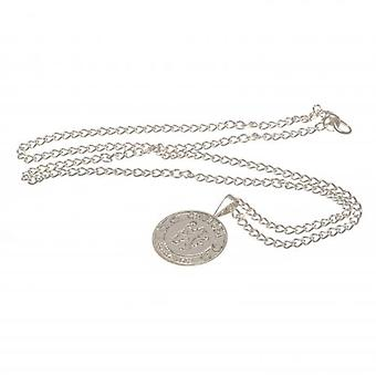 Chelsea Silver Plated Pendant & Chain XL