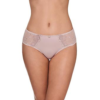 Susa 660-319 Women's Elegance Lavender Purple Floral Embroidered Knickers Panty Full Brief