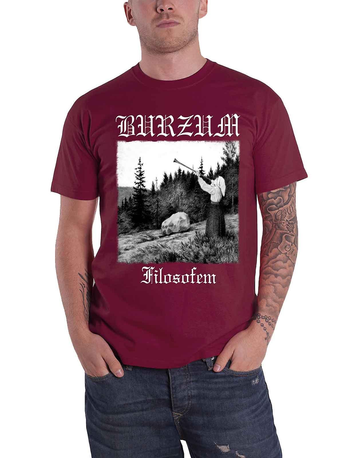 Burzum T Shirt Filosofem 2018 Album Lyrics band Logo new ...