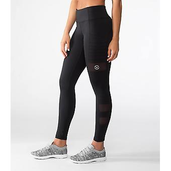 Virus ECO40 Womens Stay Cool Zepu Compression Pants - Black