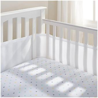 Breathable Baby Mesh Cot/Cotbed Liner 4 Sided