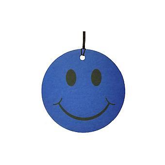 Голубой смайлик лице автомобилей освежитель воздуха
