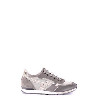 Mizuno Ezbc199002 Män's Grå Läder Sneakers