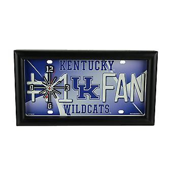 NCAA Kentucky Wildcats Nummer 1 Fan-Lizenz Platte Mantel oder Wall Clock
