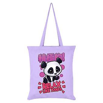 Handa Panda Relax Like Panda Tote Bag