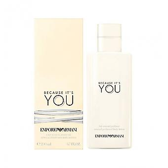 Armani Because It es You Body Lotion
