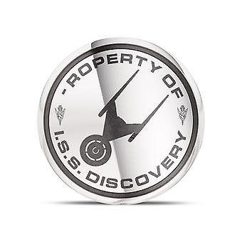 Star Trek ISS Discovery Logo Pin In 14k Yellow Gold