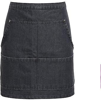 Premier-jeans stygn denim midja förkläde