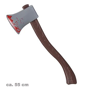 Bloody axe 55cm horror accessory Hangman