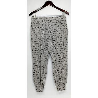 AnyBody Petite Lounge Pantaloni, Sleep Shorts Cozy Knit Pajama Pantaloni Grigio A309172