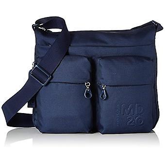 Mandarin Duck Md20 Minuteria Blue Woman Strap Bag (Dress Blue) 4x28.5x33 centimeters (B x H x T)