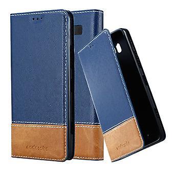 Cadorabo Hülle für نوكيا Lumia 950 غطاء القضية -- Handyhülle mit Magnetverschluss ، Standfunktion und Kartenfach -- غطاء القضية Schutzhülle Etui Tasche كتاب Klapp نمط
