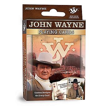 John Wayne JW ensemble de 52 cartes à jouer - jokers (mpc)