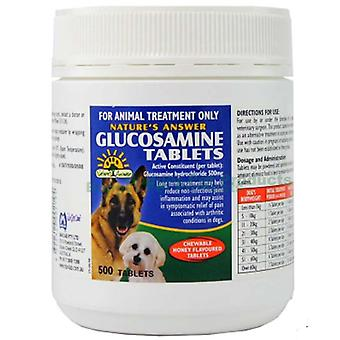Natura ' s răspuns glucozamina 500mg 500 comprimate (mavlab)