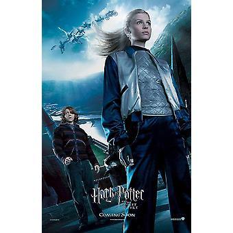 Harry Potter ja tuli palon pikari (Single-puolinen Reprint Fleur Delaco-julisteesta