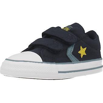 Converse stjernespiller 2V Ox Color Obsidian sko