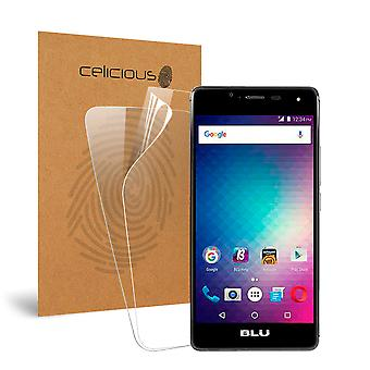 Celicious Vivid Invisible Glossy HD Screen Protector Film Compatible with BLU R1 HD [Pack of 2]