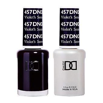 DND Duo Gel & Nail Polish Set -  Violet's Secret 457 - 2x15ml