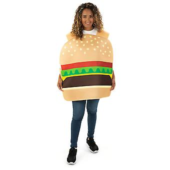 Beefy Burger Adult Costume