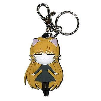 Key Chain - Black Cat - New Eve Cat Form Toys Gifts Anime Licensed ge3833
