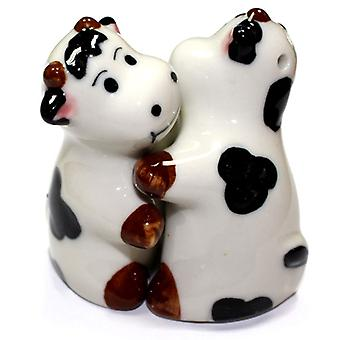 Salt and Pepper - Hugging Cows