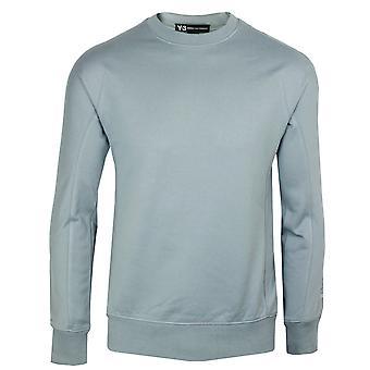 Y-3 adidas u newcl men's grey sweatshirt