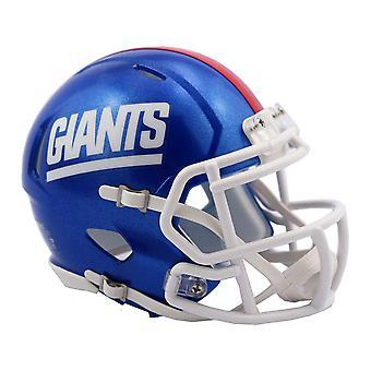 Riddell Mini Football Helm - NFL New York Giants Classic