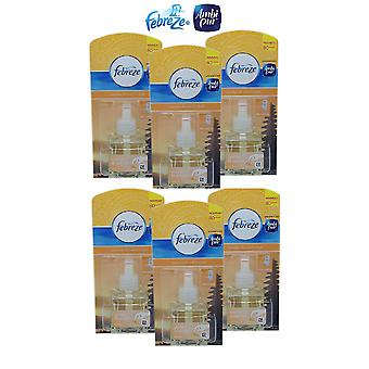 6 X Ambi Pur Plug In Refill Air Freshener - Bali Sunset
