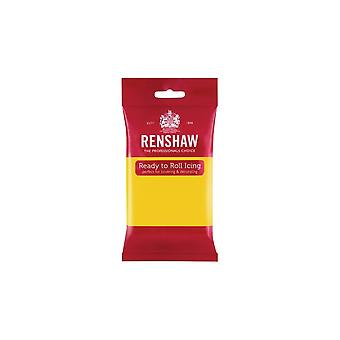 Renshaw Giallo 250g Pronto a rotolare Fondant Glassant Sugarpaste