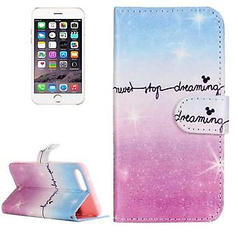 For iPhone 8 PLUS,7 PLUS Wallet Case,Dreaming Durable Protective Leather Cover