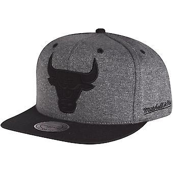 Mitchell & Ness Snapback Cap - HEATHER Chicago Bulls grey